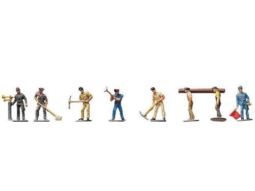 Spur N NEU Faller 155304 Figuren Gleisbauarbeiter