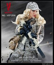 1/6 VeryCool Digital Camouflage Women Solider MAX Female Figure VCF2030 In Stock