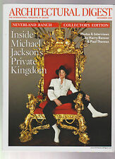 ARCHITECTURAL DIGEST NOVEMBER 2009 MICHAEL JACKSON  NEVERLAND RANCH 18-20 PAGES