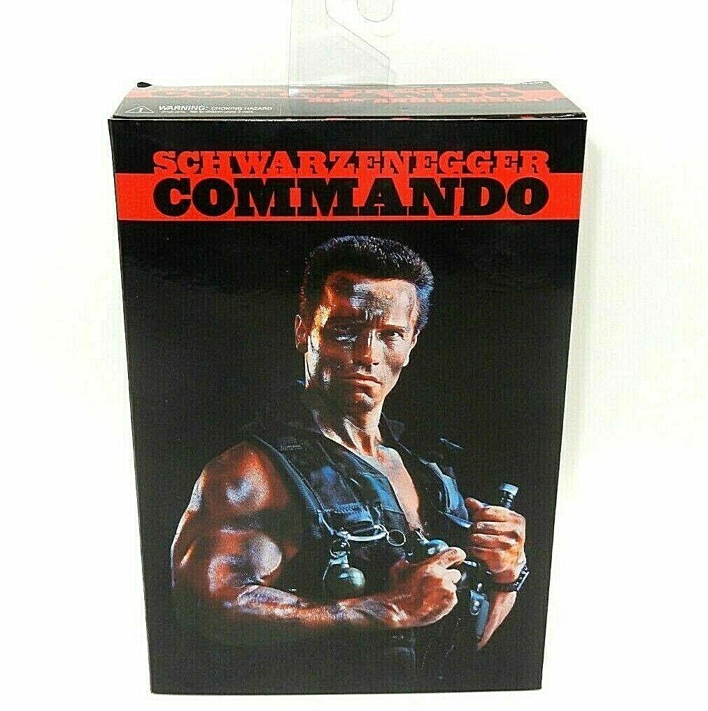 Commando John Matrix Figur PVC 16cm