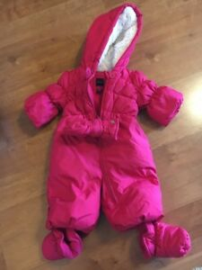 fa7af3dd4 EUC Baby Gap Size 0-6 Month Pink Snow Suit Jacket Bunting