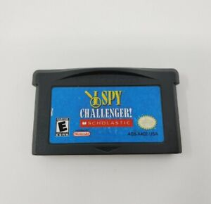 I Spy Challenger (Nintendo Game Boy Advance) GBA Authentic Tested
