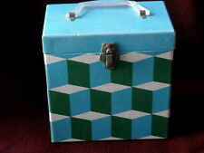 RECORD CASE~HOLDS 50 45'S ~RARE FIND~NICE SHAPE~  COLLECTABLES