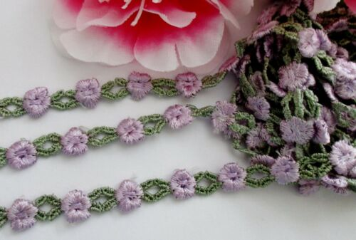 price for 1 yard 1//4 inch wide embroidery lace trim//ribbon Good quality