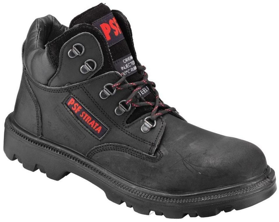 detailing 2143e 7453b Safety Boots, Mens Psf Strata Black Chukka Boots, shoes, Work Boots, 520SM  niqfbk5935-Men s Boots