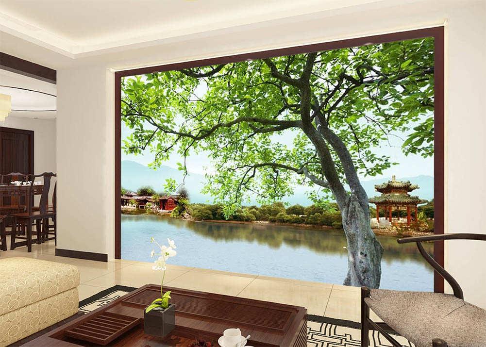 Source Of  Grün Life 3D Full Wall Mural Photo Wallpaper Print Home Kids Decor