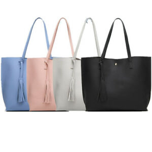 Women-Ladies-Leather-Handbag-Shoulder-Purse-Crossbody-Tote-Bag-Messenger