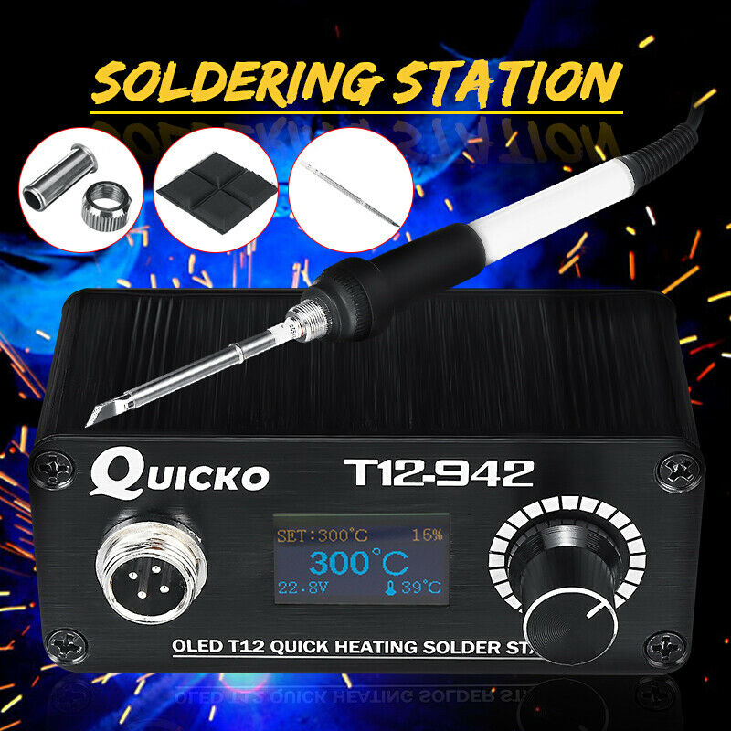KSGER T12 Mini Welding Temperature Control Soldering Station DIY Electronic Y0D3