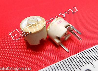 1-6 pF compensatore capacitivo tubetto trimmer capacitor variabile ref g