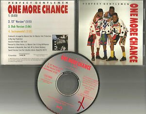 Details about PERFECT GENTLEMEN One more Chance 12 INCH &DUB & INSTRUMENTAL  PROMO DJ CD Single