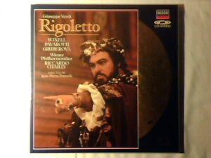 RICCARDO-CHAILLY-Verdi-Rigoletto-2-laserdisc-laser-disc-LUCIANO-PAVAROTTI