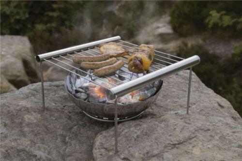 Grilliput Tragbar Kompakt BBG Grillen Tasche Barbeque Wanderer Faltbar Feuer