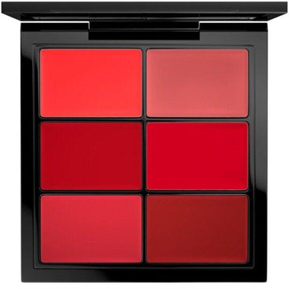 mac lip palette editorial red