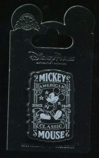Chalk Sketch Mickey Mouse Since 1928 Disney Pin 101227