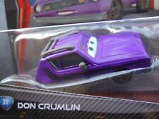 "NEW IN PACKAGE DISNEY PIXAR CARS 2 /""DON CRUMLIN/"" BLUE//GREEN  EYES SHIP WW"