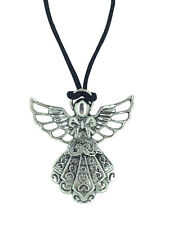Guardian Angel Tibetan Silver Protection Pendant