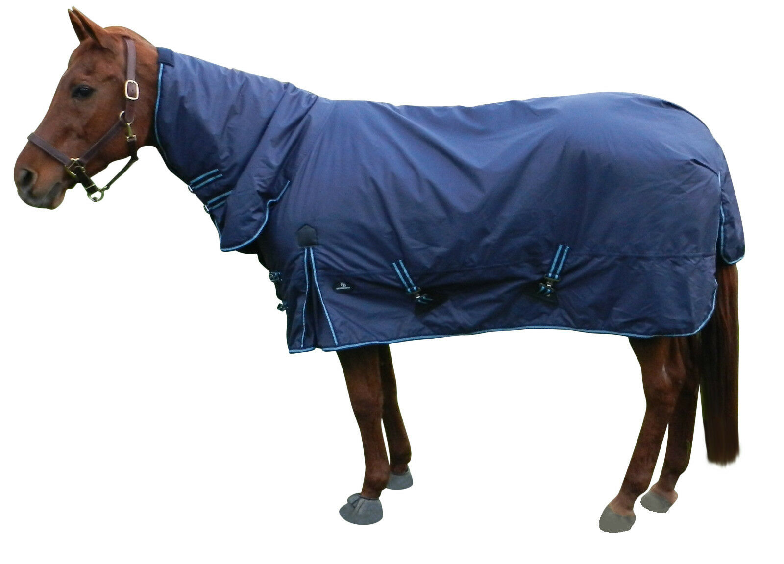 New  Waterproof Turnout Horse Blanket W Neck Cover 78