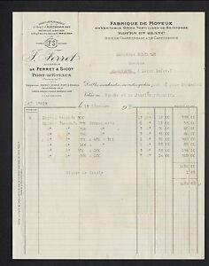 PORT-D-039-ENVAUX-17-USINE-de-MOYEUX-amp-ROUE-034-FERRET-amp-SICOT-J-FERRET-Succ-034-1930