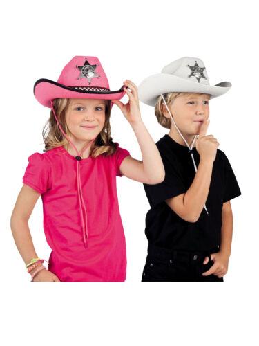 CAPPELLO Per Bambini Con Stella Sceriffo Western