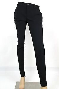 f7696450b44  880 New Gucci Womens Black Leggings Pants Skinny Fit Zippered ...