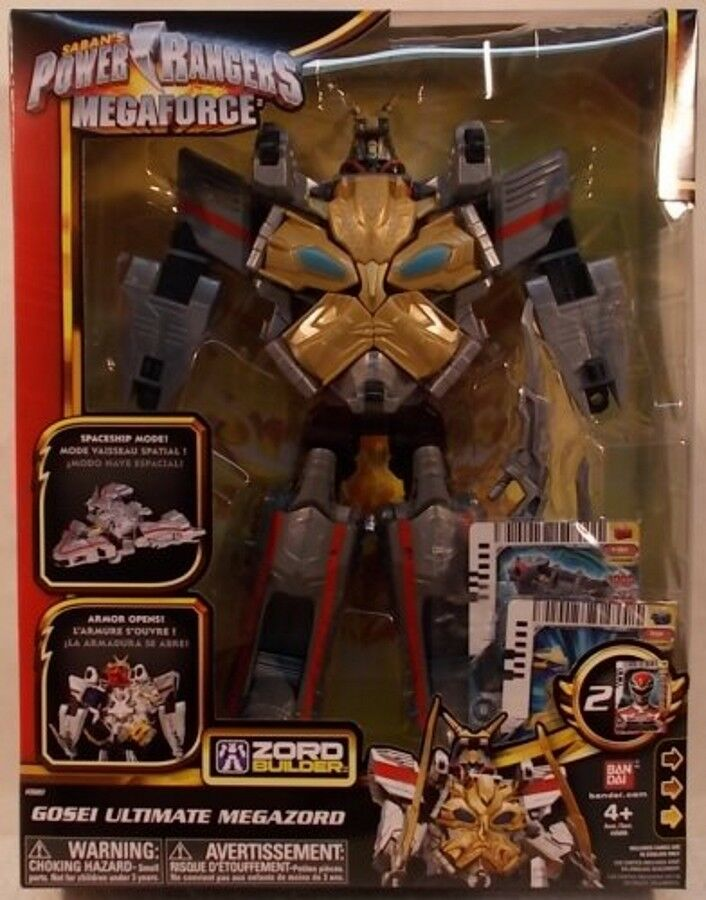 Power Rangers Megaforce Ultimate Gosei Megazord Combines With Morpher & Great