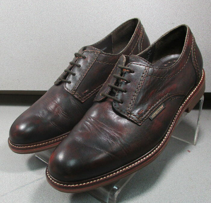 WAINO BROWN MMPF60 Men's shoes Size 9 Eur Eur 8.5 Leather Lace Up Mephisto