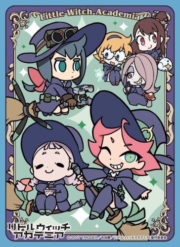 65 67x92mm Little Witch Academia Luna Nova Magical Academy 26112 Card Sleeve