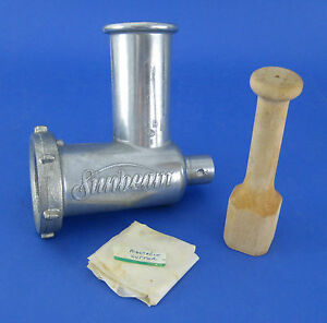 Vintage-Sunbeam-MixMaster-Mixer-Meat-Grinder-Food-Chopper-Attachment-Only