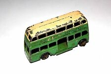Dinky Toys Pre War 2 Tone Marmite Motor Bus # 29 With Metal Wheels Rare !!