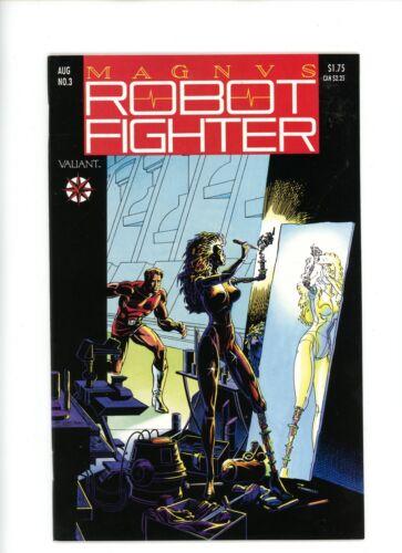 "NM 1991 Valiant Comics BX37. # 3 1st Tekla appearance /""Magnus Robot Fighter/"""