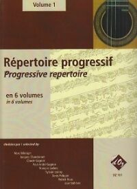 Musical Instruments & Gear Guitar Repertoire Progressif Vol 1 Guitar