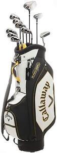 Callaway-WARBIRD-10-golf-clubs-set-with-Caddy-Bag-2016-model-Japan-import
