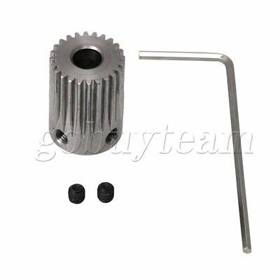 0.5M45T 3-12mm Bore Hole 45Teeth Module 0.5Motor Metal Gear Wheel with Top Screw