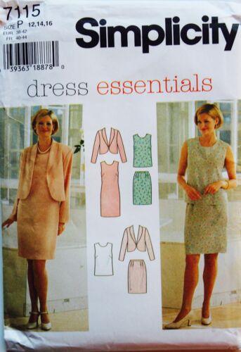 Jr Misses /& Womens DRESS Patterns ~ SIMPLICITY Sz 3//4-28W PLUS UC U PICK