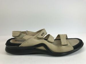 4eb10831d18ee ECCO Light Sport Sandal Ankle Strap EU 41 US 10 10.5 Womens Leather ...