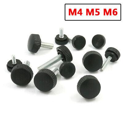 M5 M6 M8 M10 Kunststoff Pentagramm Daumenschraube Drehknauf Stellknopf Feststell