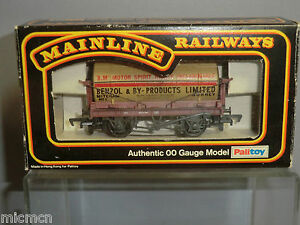 MAINLINE-MODEL-No-37177-034-BENZOL-amp-BY-PRODUCTS-034-12T-TANK-WAGON-VN-MIB