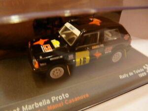 voiture-1-43-IXO-altaya-Rallye-SEAT-Seat-Marbella-Proto-1989-Rallye-de-Tolede
