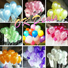 Free shipping 50/100 PCS birthday wedding decoration latex balloons 10