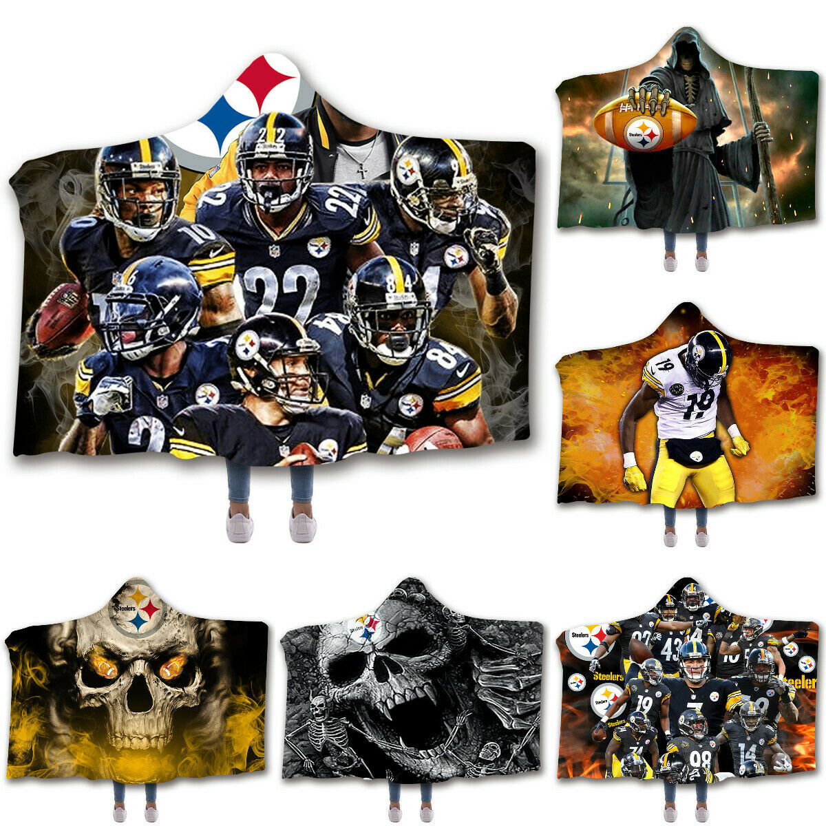 Wholesale Pittsburgh Steelers Marque Fleece Blankets Mpn Bsteelersest For Sale Online Ebay