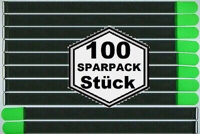 100 Klett Kabelbinder 800 X 50mm Neongrün Fk Kabelklettband Kabelklett Klettband