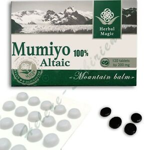 120-tab-Altai-High-Quality-Pure-Supplement-mumio-mumiyo-mumijo-shilajit-resin