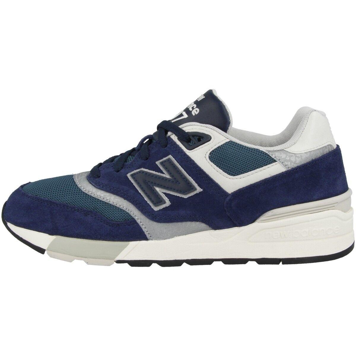 New Balance ML 597 AAA Schuhe Sport Sneaker Blau schwarz orion Grau ML597AAA