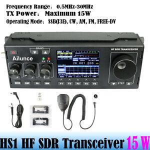 Ailunce Hs1 Sdr Hf Shortwave Transceiver Radio Station 0 5mhz 30mhz Broadcast Ebay