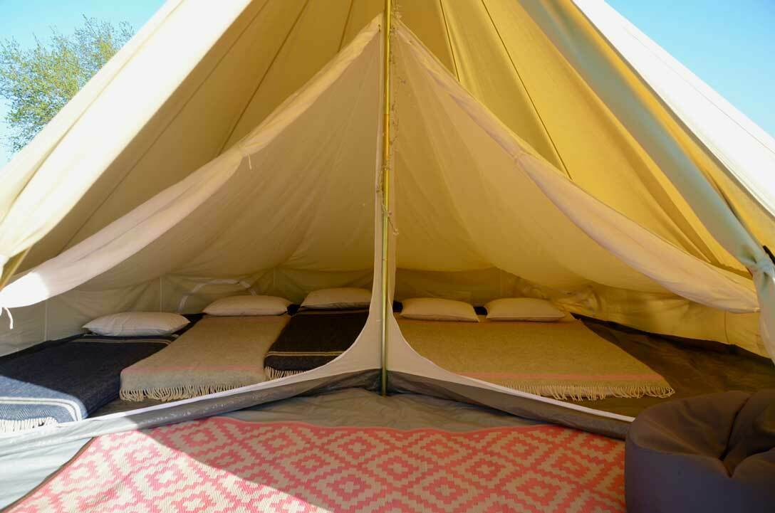 Oversized Inner for 5m Bell Tent, 2 Room or Single Space With Divide