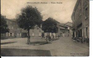(S-79866) FRANCE - 69 - BRULLIOLES CPA obZn5uWc-09155724-285669858