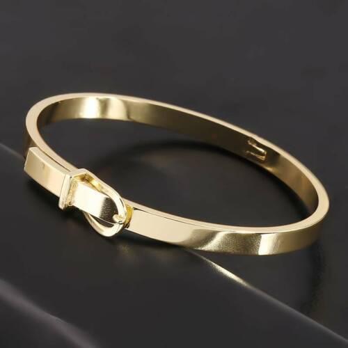 Manchette Bracelet Expandable Elegant 6.5*5.5cm Unisex Gifts Belt Jewellery KS