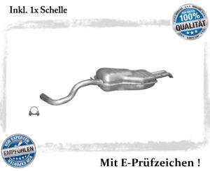 Endschalldaempfer-VW-Golf-IV-4-Variant-1-6-FSi-2-0-Auspuff-Endtopf-Schelle