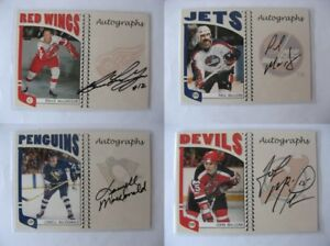 2004-05-ITG-Franchise-A-BMG-Bruce-MacGregor-autograph-auto-RARE-red-wings