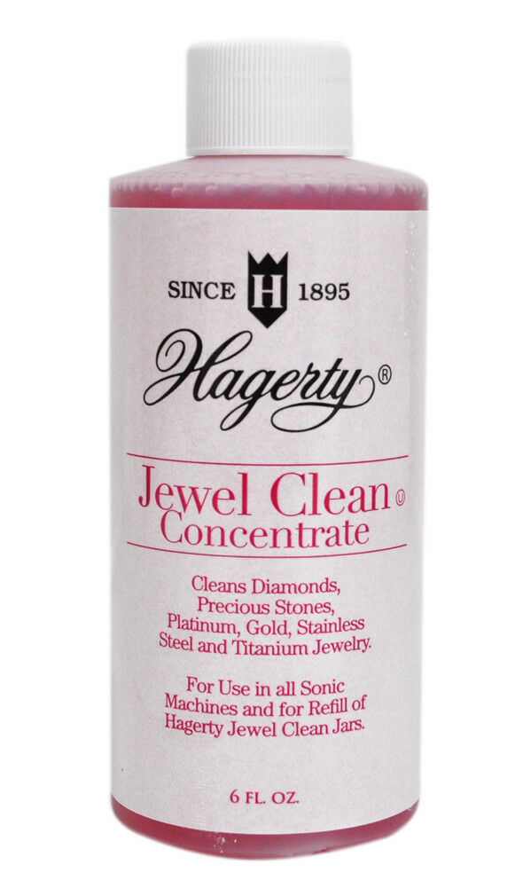 Hagerty 6 Ounce Ultrasonic Jewelry Cleaner Concentrate Red For Sale Online Ebay